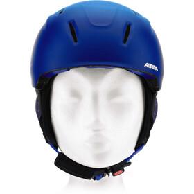 Alpina Carat XT Casco de esquí Niños, blue-gradient matt